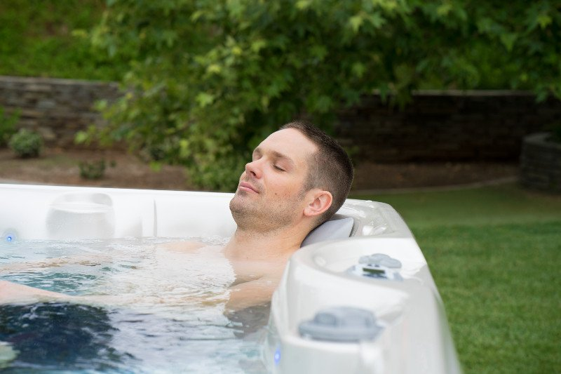 Your home hot tub offers relaxation and renewal every day.