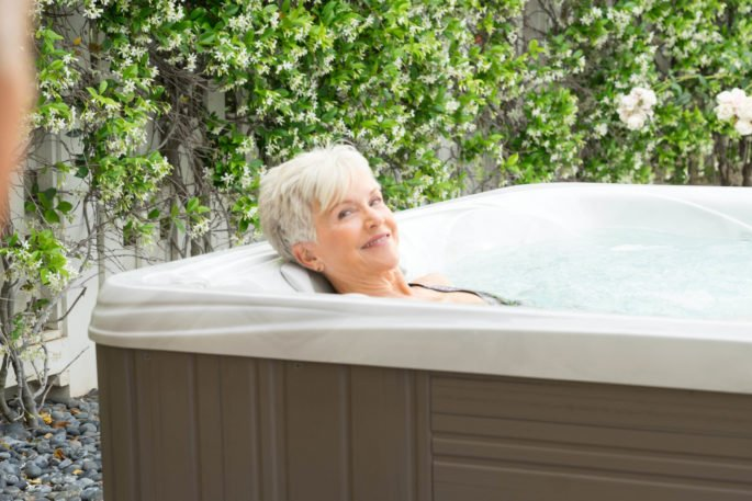 20 minutes in your hot tub every day brings relaxation of body and mind.
