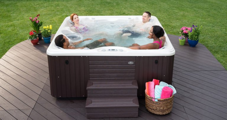 Purchasing a hot tub is as much about the technical details as the relaxing elements.