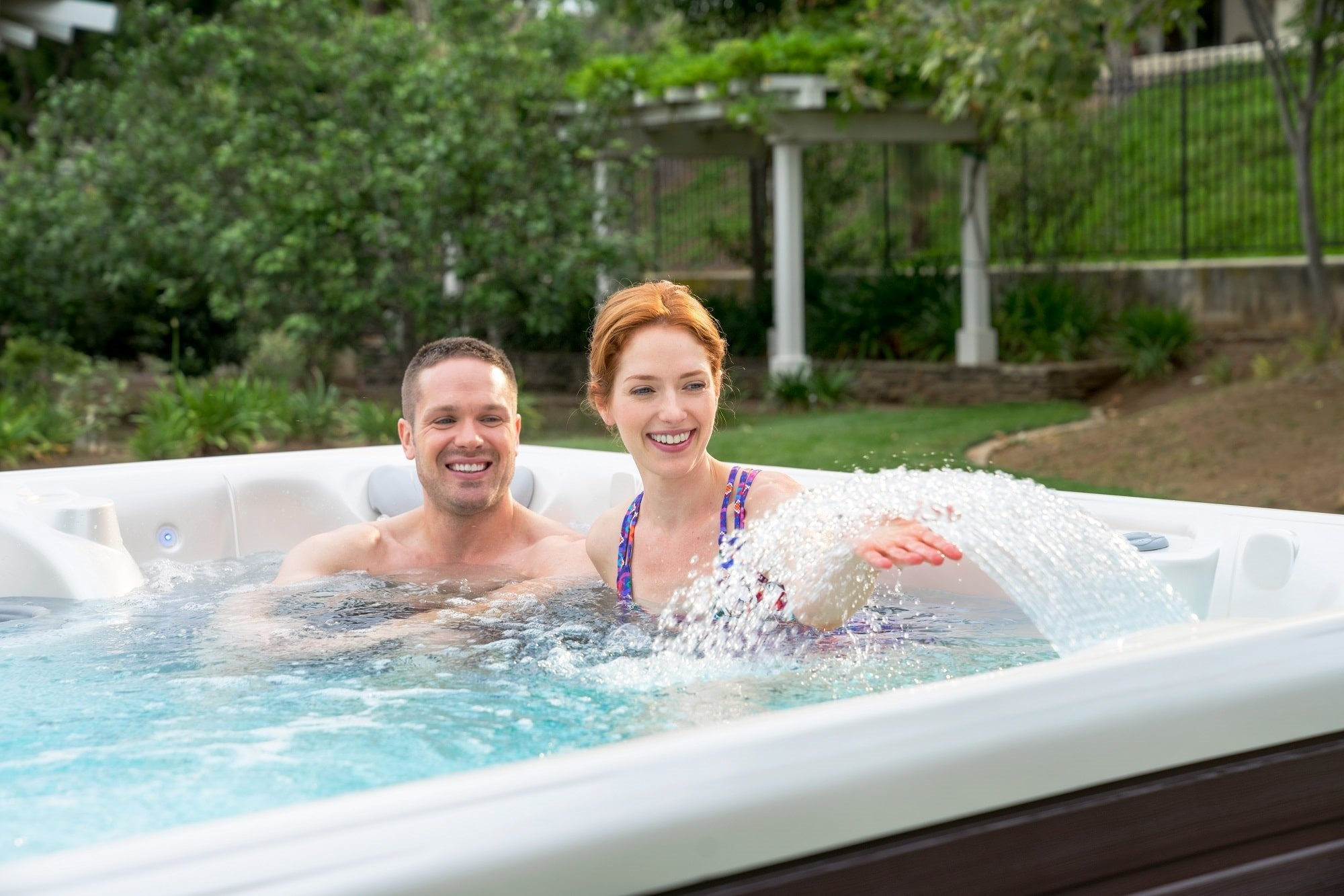 Luxury hot tub accessories enhance your enjoyment of the hot tub every time you use it.